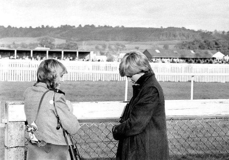 Fueron amigas la princesa Diana y Camilla Parker Bowles 1980