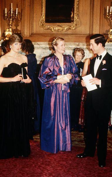 Lady Di y Grace Kelly encuentro