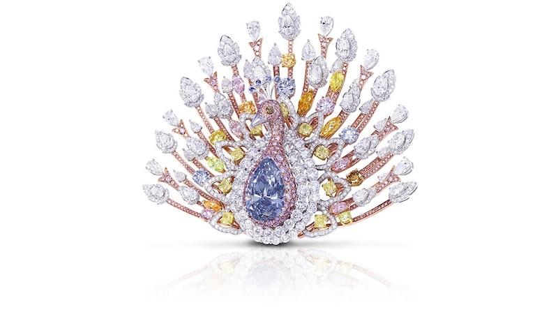Las joyas más caras del mundo - peacock brooch