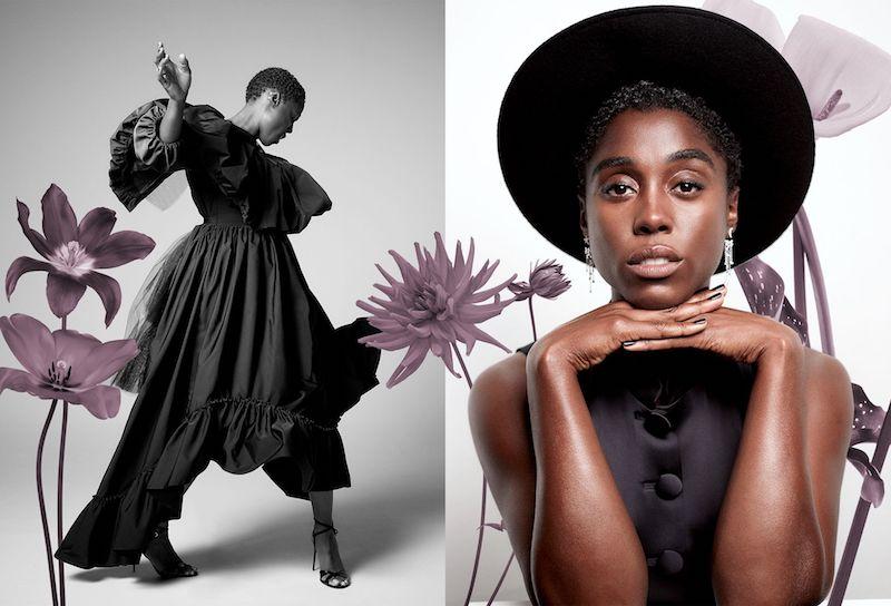 Lashana Lynch mujer negra 007 Díptico