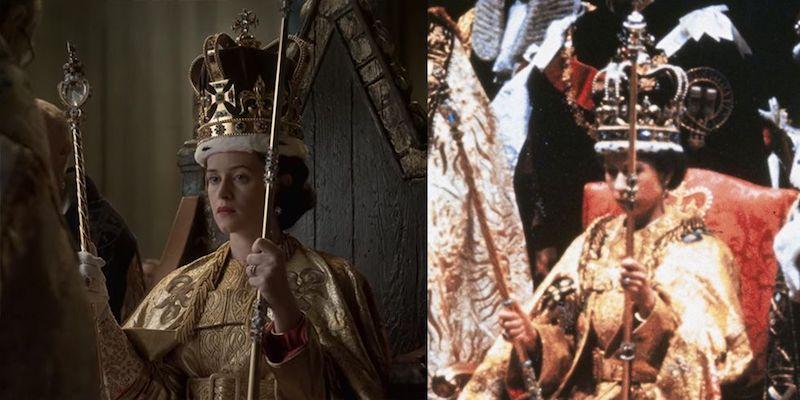 looks de The Crown coronacion