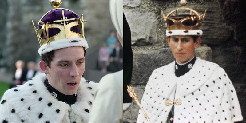 looks de The Crown Carlos