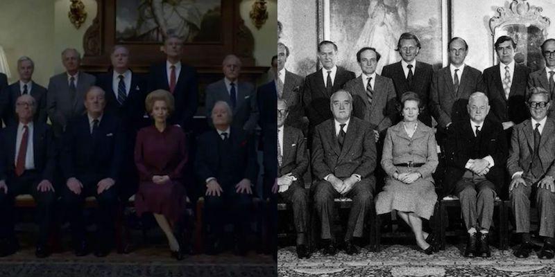 looks de The Crown Thatcher