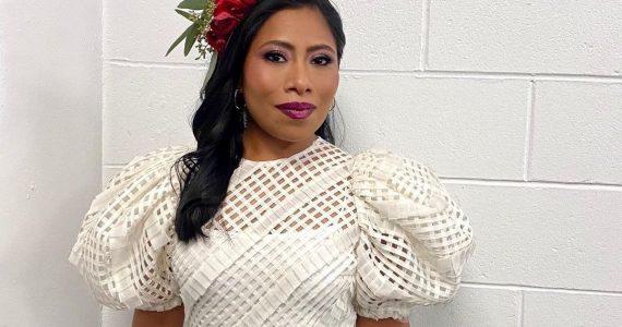Looks de Yalitza Aparicio en los Latin Grammy 2020