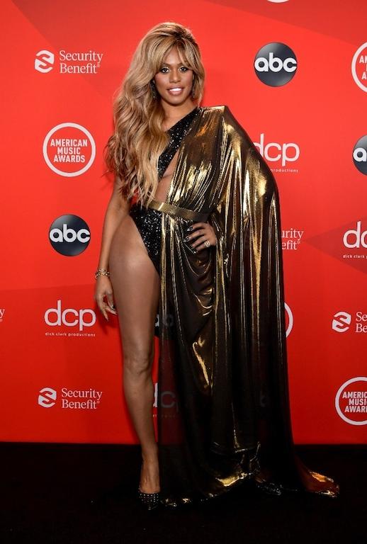 Los mejores looks de los American Music Awards 2020 Laverne Cox
