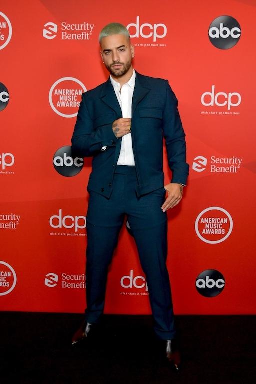 Los mejores looks de los American Music Awards 2020 Maluma