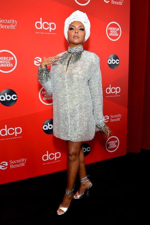 Los mejores looks de los American Music Awards 2020 Taraji P. Henson
