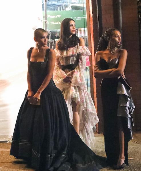 Nueva versión de Gossip Girl protagonistas moda