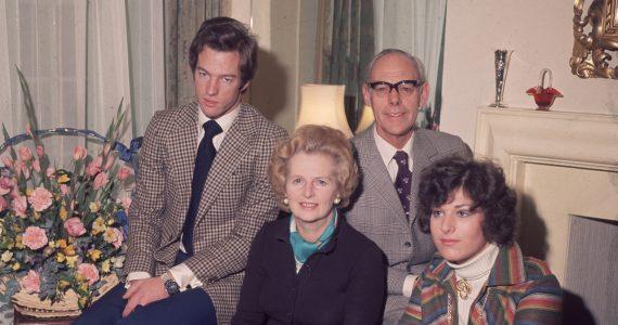 Qué le pasó a los hijos de Margaret Thatcher