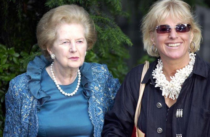 Qué le pasó a los hijos de Margaret Thatcher Carol