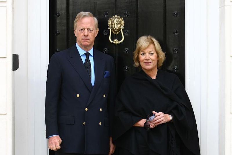 Carol y Mark Thatcher