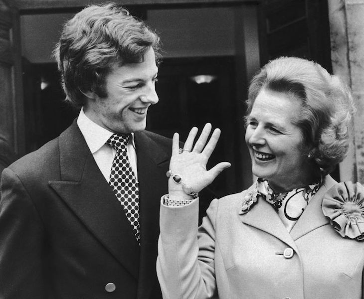 Qué le pasó a los hijos de Margaret Thatcher Mark