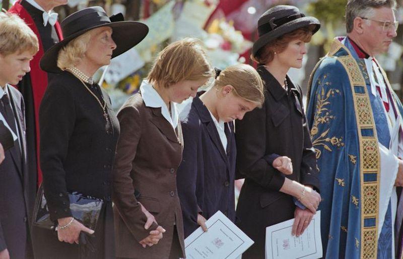 Qué pasó con la hermana de la princesa Diana funeral