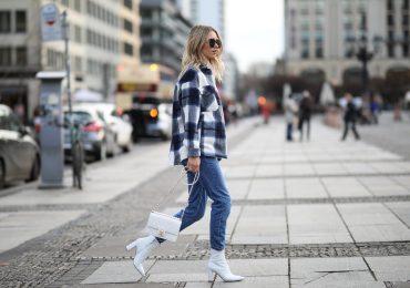 cómo combinar jeans en invierno