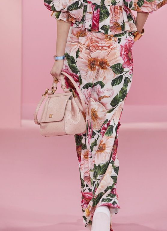 Dolce and Gabbana Power Pastel floral