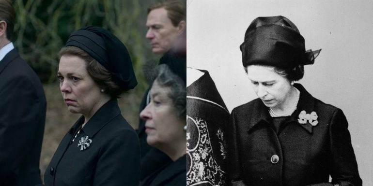 looks reales de the crown