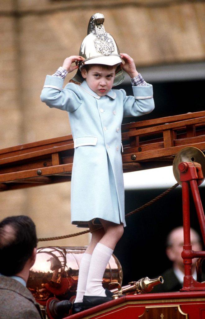 fotos de navidad de la realeza príncipe william