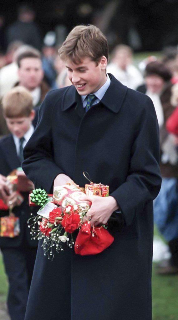 fotos de navidad de la realeza william joven
