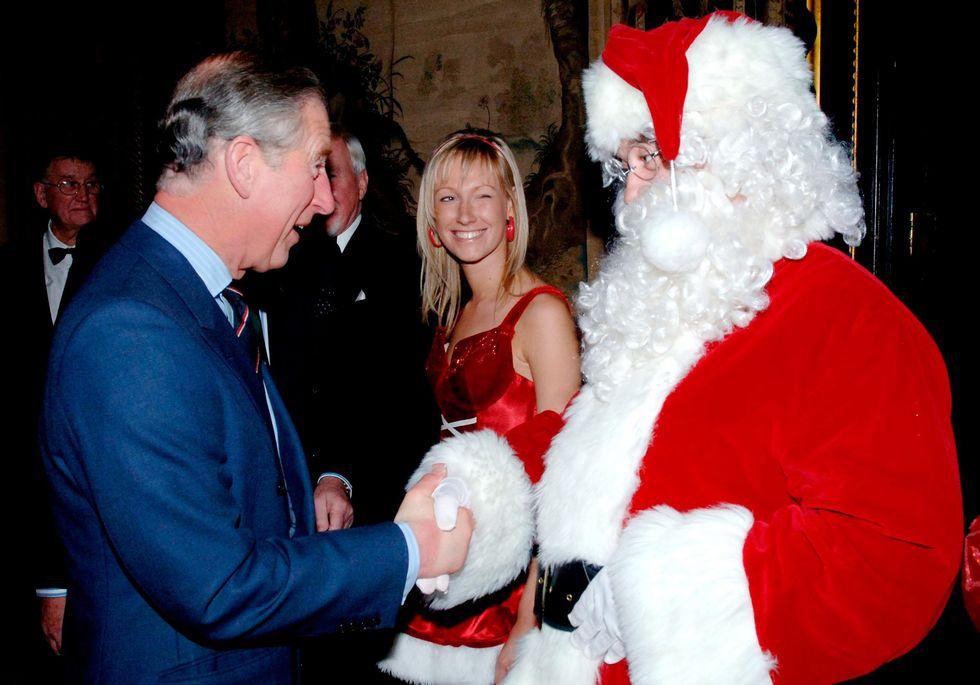 fotos de navidad de la realeza príncipe carlos