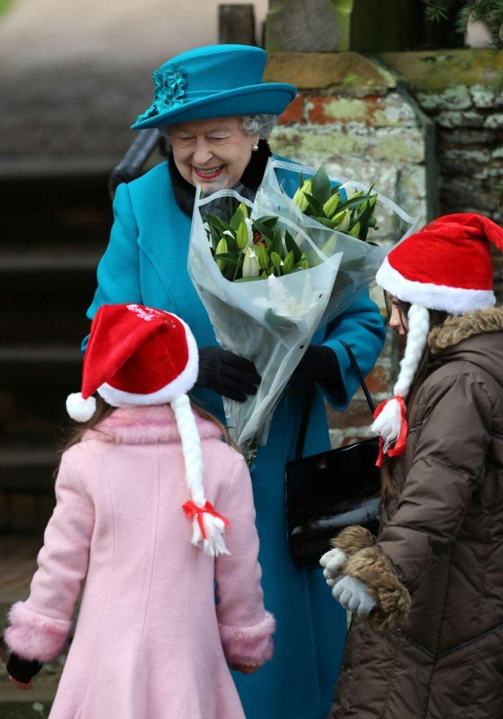 fotos de navidad de la realeza flores