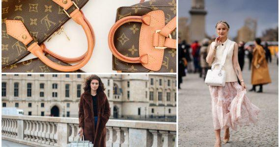 Historia de las bolsas de moda