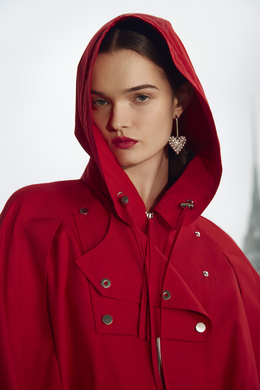 Carolina Herrera Fall 2021 hoodie
