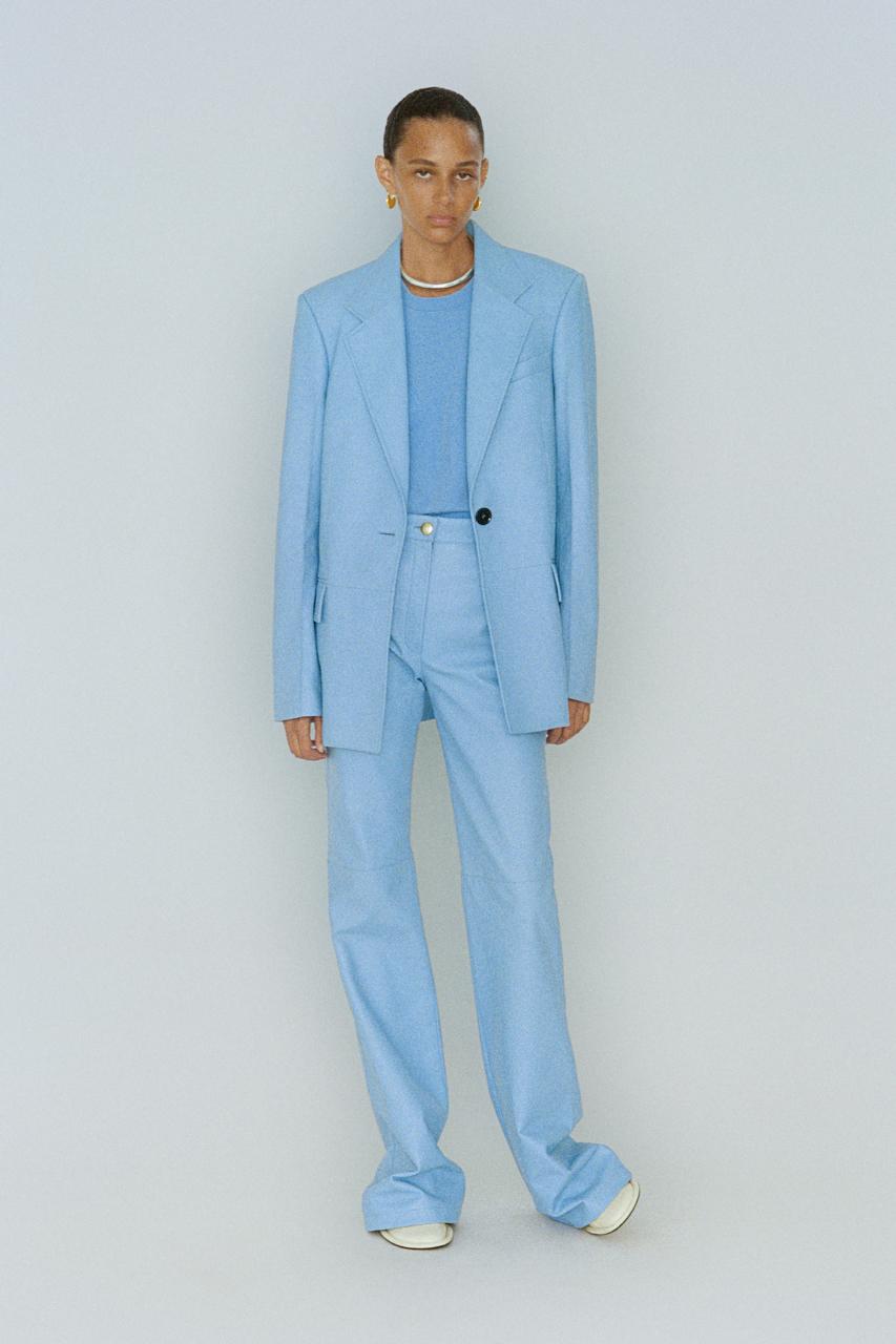 qué significa vestirse de azul