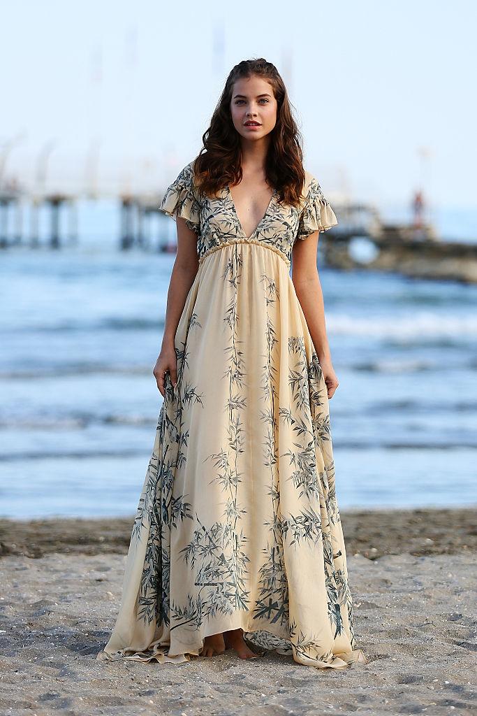 vestido corte imperio