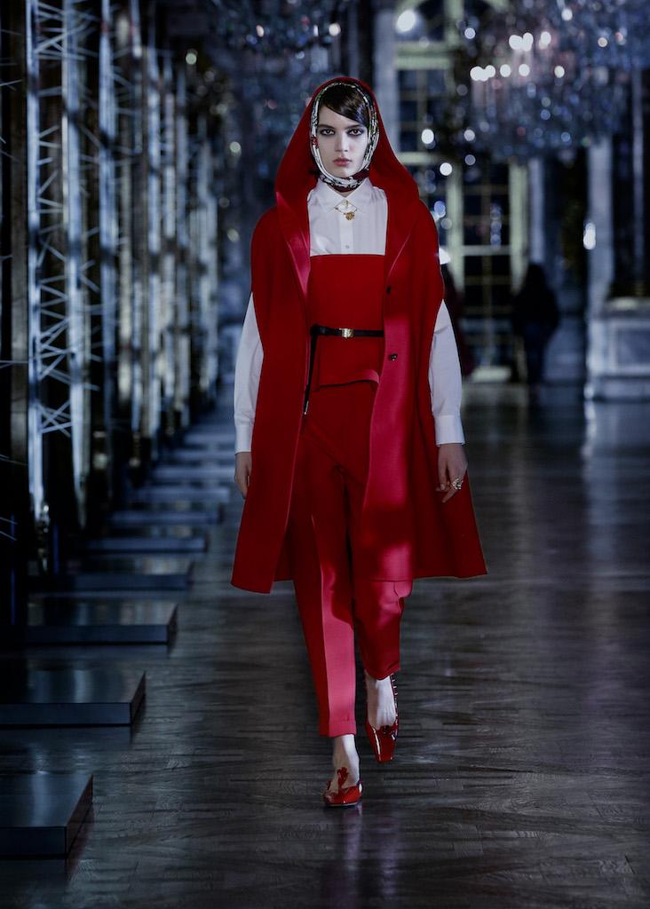 Dior Otoño Invierno 2021 red