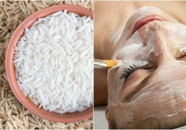 mascarilla de arroz para la cara
