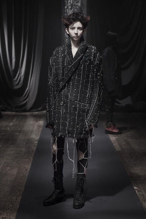 Paris Fashion Week Otoño Invierno 2021 Yohji Yamamoto