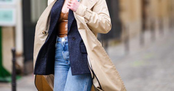 Cómo combinar jeans 2021 abrigo