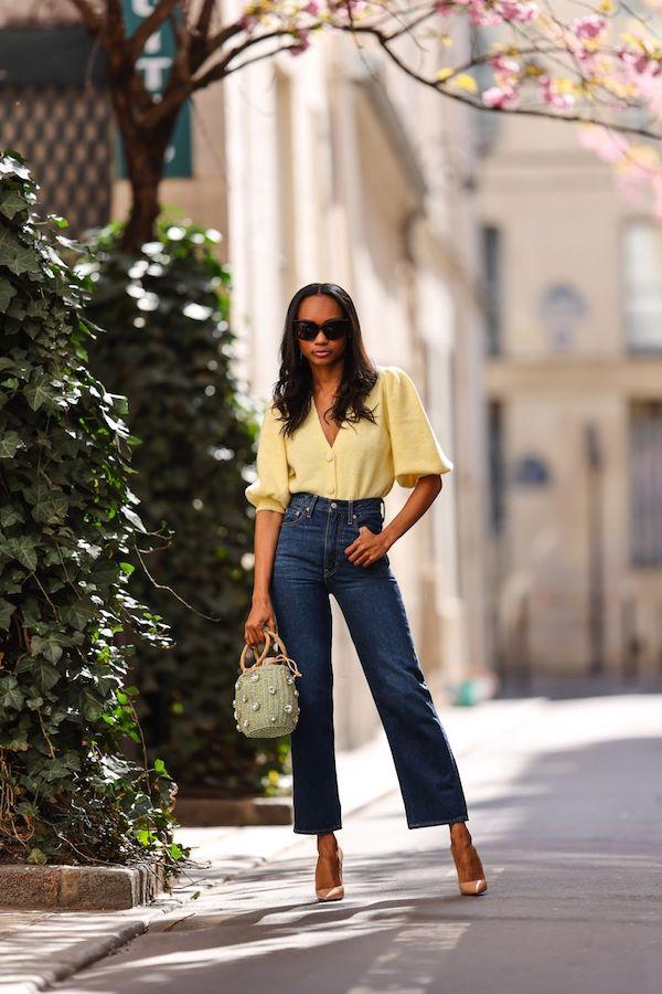 Cómo combinar jeans 2021 tacones