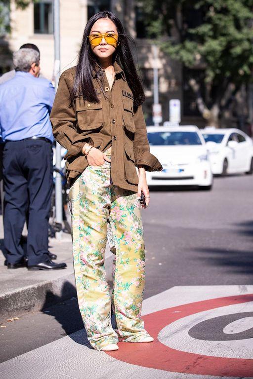 Cómo vestir años 70 tendencias 2021 pantalones