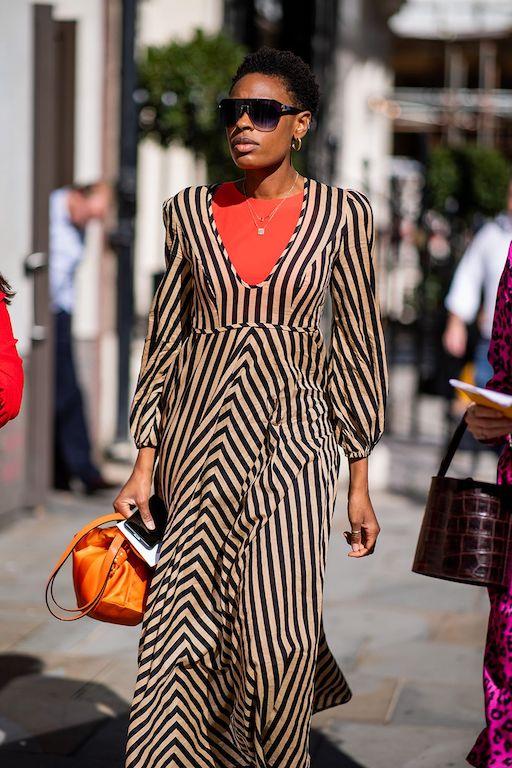 Cómo vestir años 70 tendencias 2021 vestidos