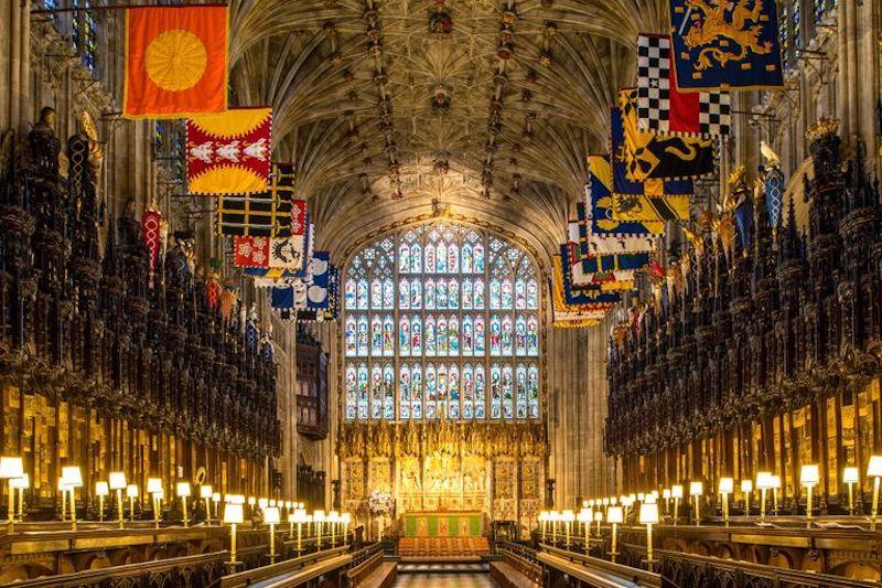 Detalles Funeral Felipe de Edimburgo Capilla de San Jorge