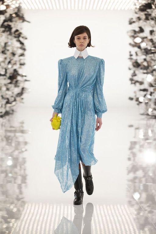 Gucci Balenciaga vestido