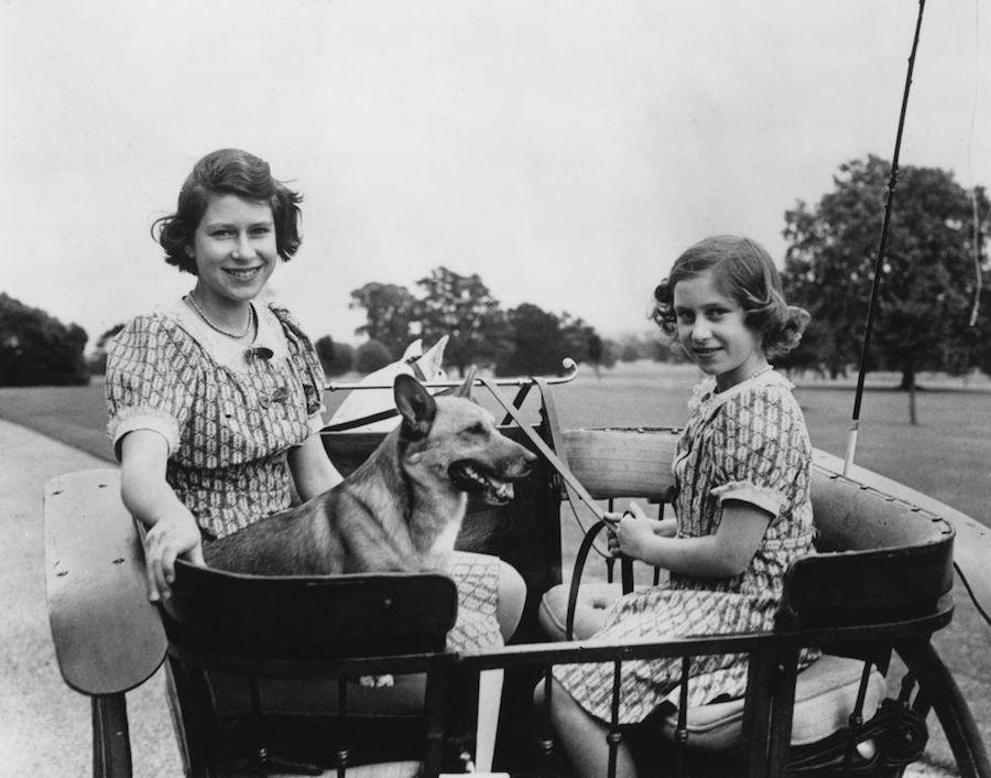 Isabel II Princesa Margarita hermanas