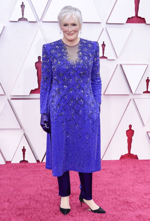 Looks Alfombra Roja Oscars 2021 Glenn Close
