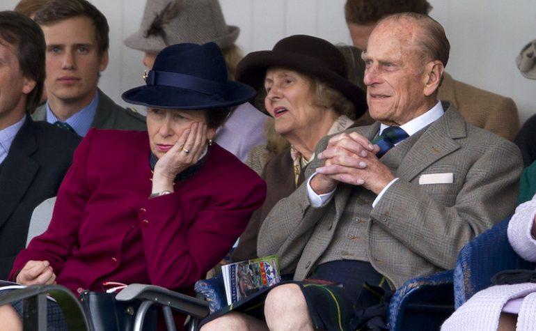 Princesa Ana Funeral de Felipe de Edimburgo