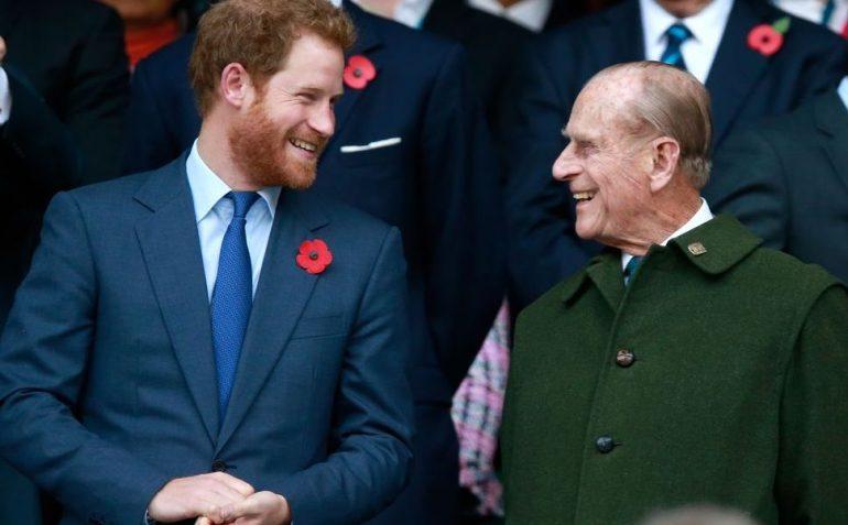 Príncipe Harry Funeral de Felipe de Edimburgo