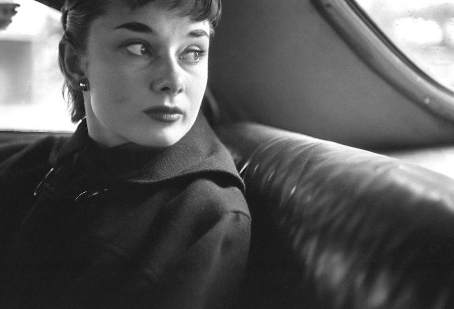 Audrey Hepburn fotos Broadway