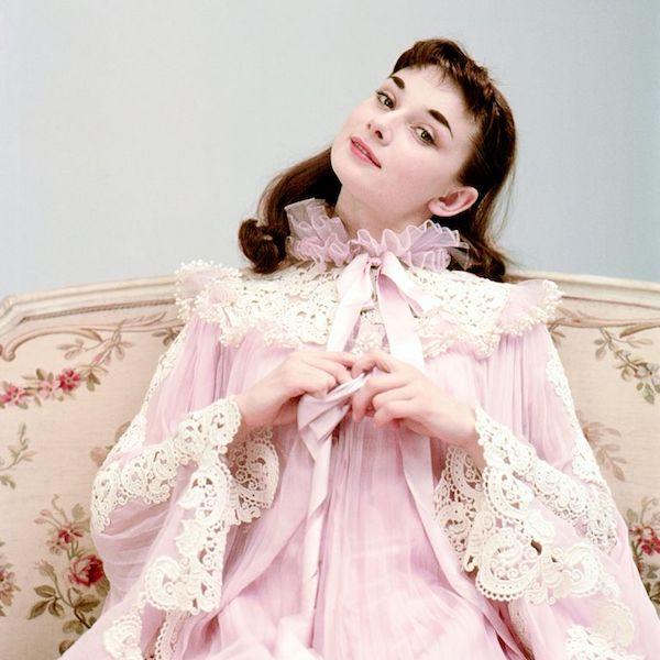 Audrey Hepburn fotos Gigi
