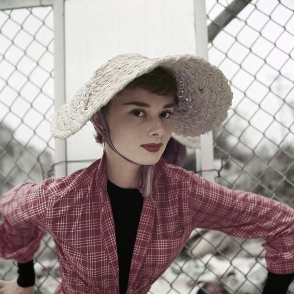 Audrey Hepburn fotos paja