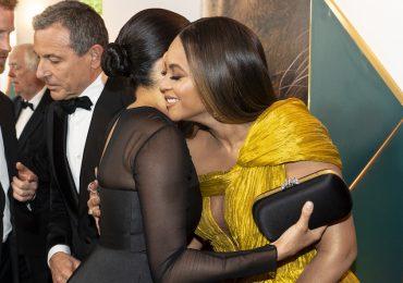 Beyoncé Meghan Markle abrazo