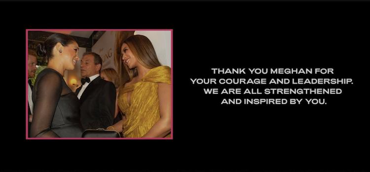 Beyoncé Meghan Markle