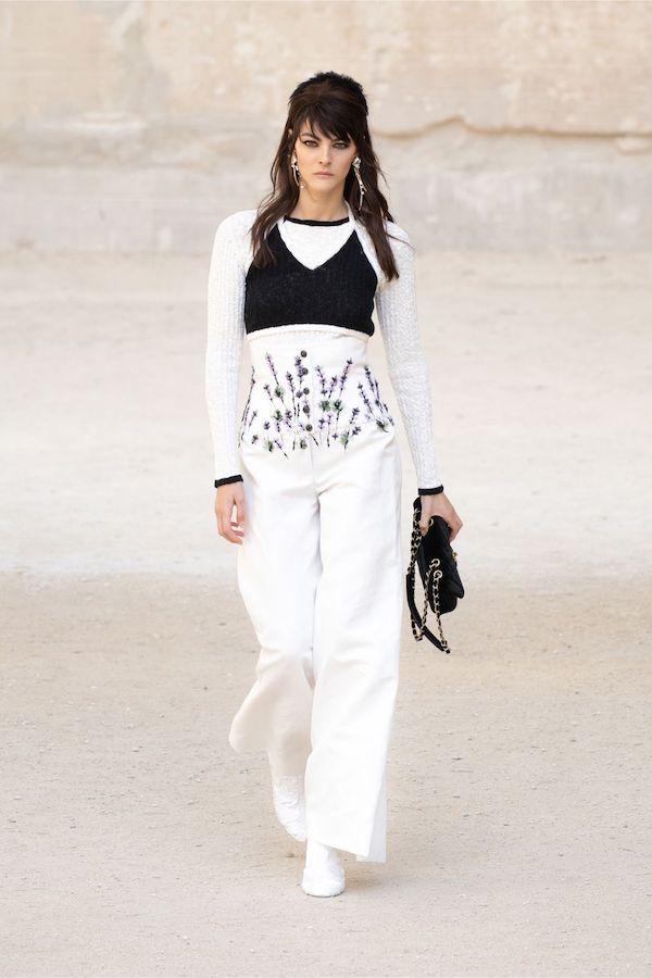 Chanel Colección Crucero 2021 2022 flores