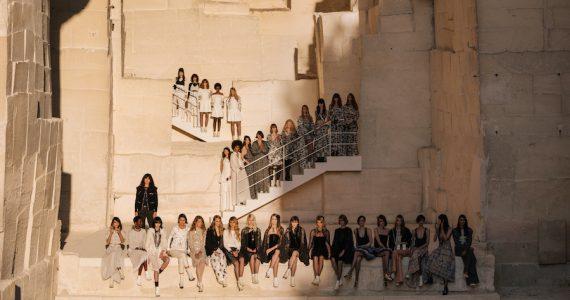 Chanel Desfile Físico 2021 cruise