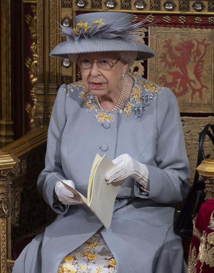 Isabel II joyas parlamento