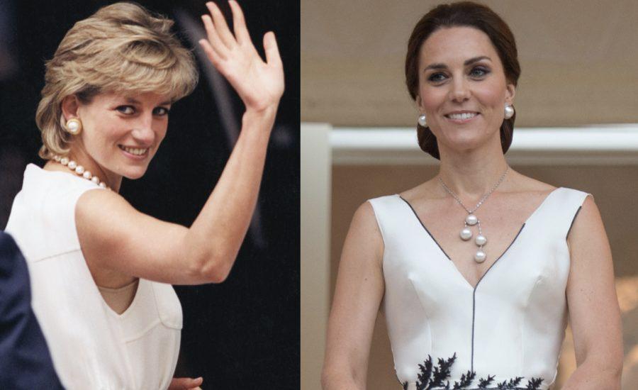 Kate Middleton Looks Diana